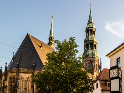 Photo: architectural monuments, museums and exhibitions, Cathedral Zwickau and Priest's House, Saxony