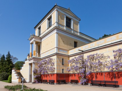 Photo: architectural monuments, Pompejanum, Bavaria