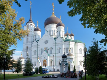 Photo: architectural monuments, other places, temples and places of worship, cathedrals and churches, Cathedral of the Annunciation, Voronezh