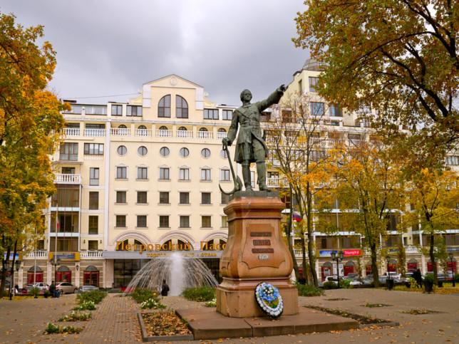 Музыкальные открытки, картинки петровский сквер