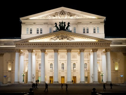 Photo: architectural monuments, The Bolshoi Theatre, Moscow