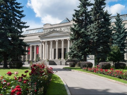 Photo: museums and exhibitions, other places, Pushkin State Museum of Fine Arts, Moscow