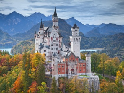 Photo: castles, fortresses and palaces, Neuschwanstein Disney Castle , Bavaria