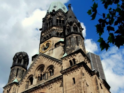 Photo: museums and exhibitions, architectural monuments, Kaiser Wilhelm church , Berlin