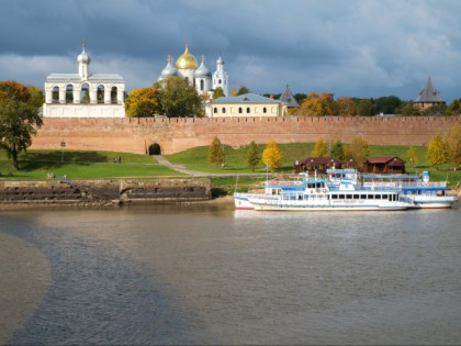 Photo: castles, fortresses and palaces, other places, architectural monuments, Novgorod Kremlin, Veliky Novgorod