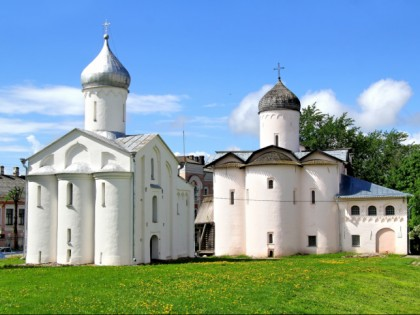 Photo: other places, architectural monuments, temples and places of worship, cathedrals and churches, Yaroslav Courtyard (Dvorishche), Veliky Novgorod
