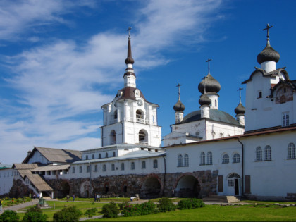 Photo: architectural monuments, other places, temples and places of worship, abbeys and monasteries, Solovetsky Monastery , Arkhangelsk
