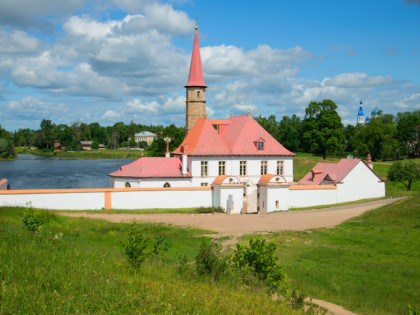 Photo: castles, fortresses and palaces, museums and exhibitions, architectural monuments, Intercession Cathedral, Gatchina