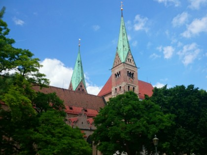 Photo: architectural monuments, Cathedral of Our Lady in Augsburg , Bavaria