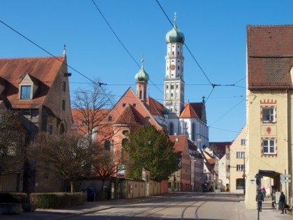 Photo: architectural monuments, Basilica of St. Ulrich and St. Afra , Bavaria