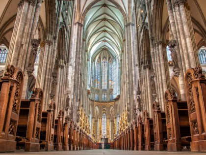 Photo: architectural monuments, Cologne Cathedral , North Rhine-Westphalia