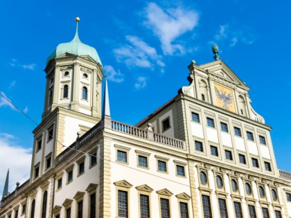 Photo: architectural monuments, Augsburg town hall, Bavaria