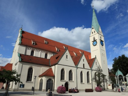 Photo: architectural monuments, The Church and Square of St. Mang, Bavaria