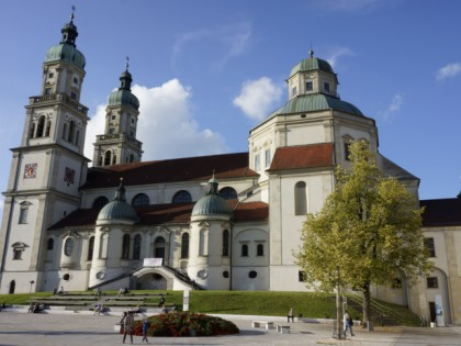 Photo: architectural monuments, Basilica of St. Lawrence, Bavaria