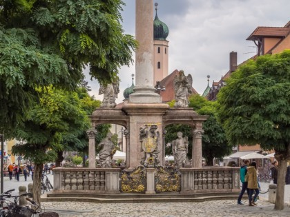 Photo: architectural monuments, Holy Trinity Column , Bavaria