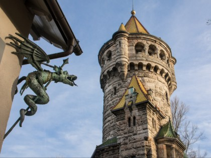 Photo: museums and exhibitions, architectural monuments, Mother's Tower and Herkomer Museum , Bavaria