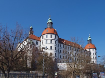 Photo: castles, fortresses and palaces, museums and exhibitions, Neuburg Castle, Bavaria