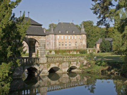Photo: castles, fortresses and palaces, parks and recreation, Castle of Dyck , North Rhine-Westphalia