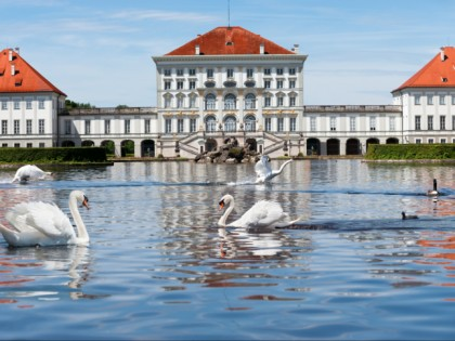 Photo: castles, fortresses and palaces, museums and exhibitions, parks and recreation, Nymphenburg Palace, Bavaria