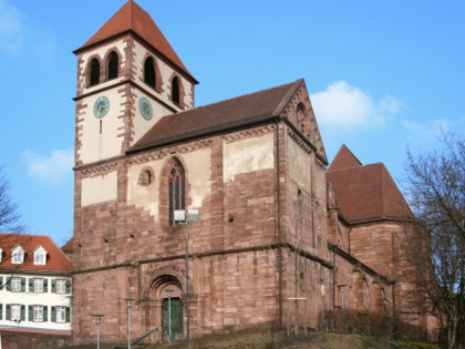 Photo: architectural monuments, museums and exhibitions, Castle Church, Baden-Wuerttemberg